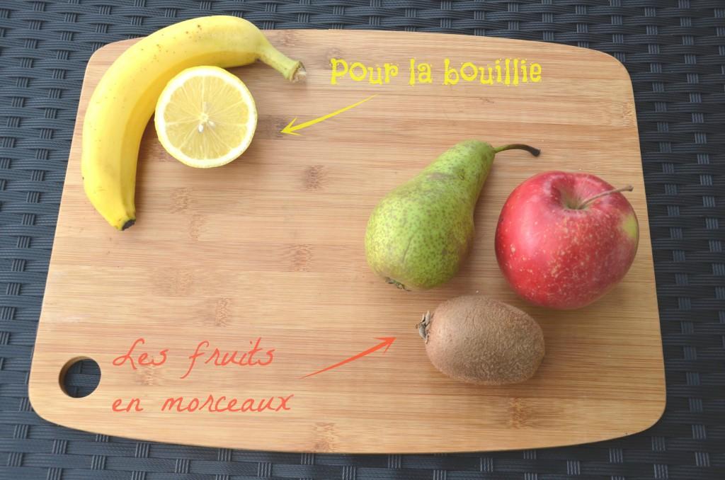 ingrédients miam o fruit