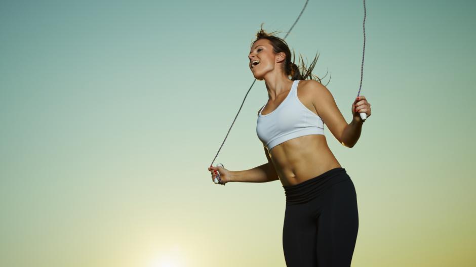 perdre de la graisse corde à sauter