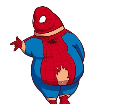 spiderman gros