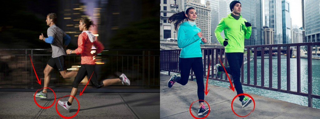 publicité Nike talon
