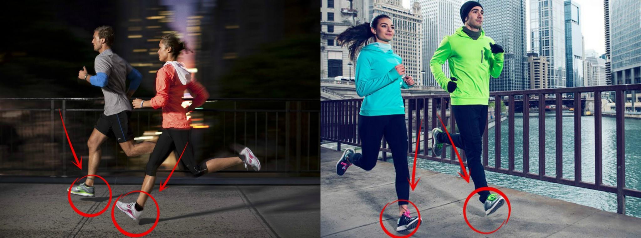 1b89054cdfed0 publicité Nike talon. Si l on réapprenait enfin à courir correctement ...