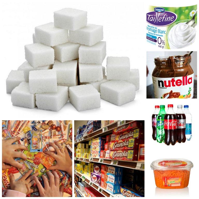 aliments sucre blanc