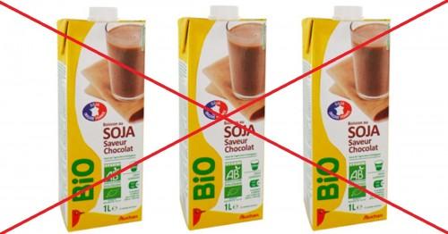 lait de vache lait de soja