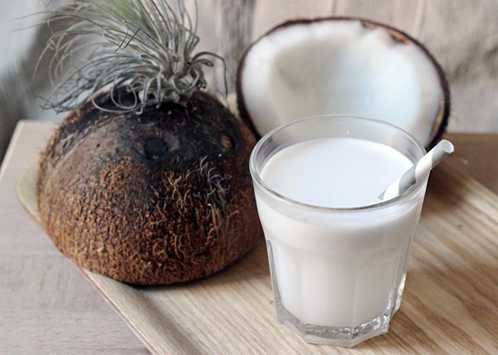 Un petit d jeuner d licieux base de lait de coco - Lait de coco bjorg ...
