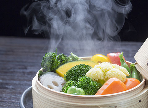 légumes cuits biostatiques