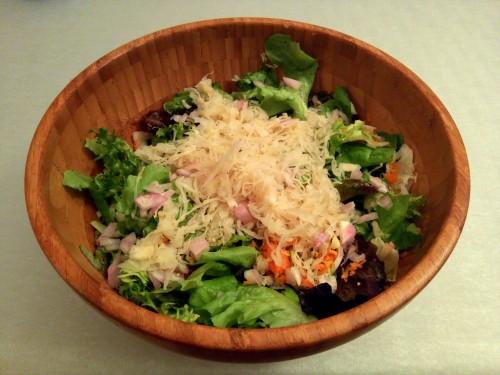 salade choucroute crue