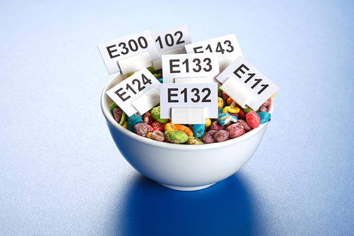 ingrédients additifs alimentaires