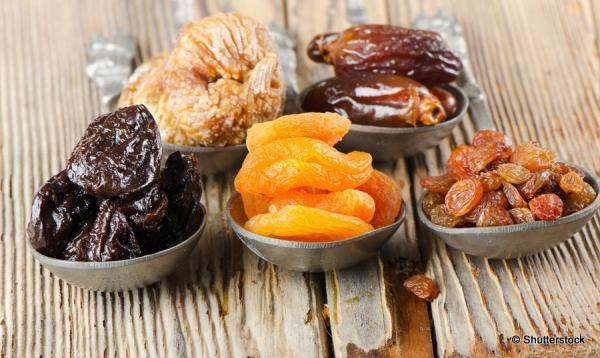 fruits séchés sportifs féculents