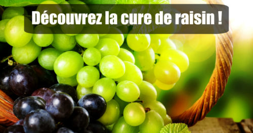 cure de raisin