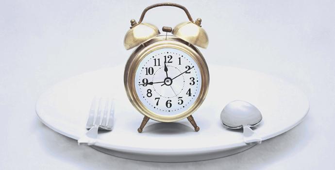 jeûner intermittent horloge