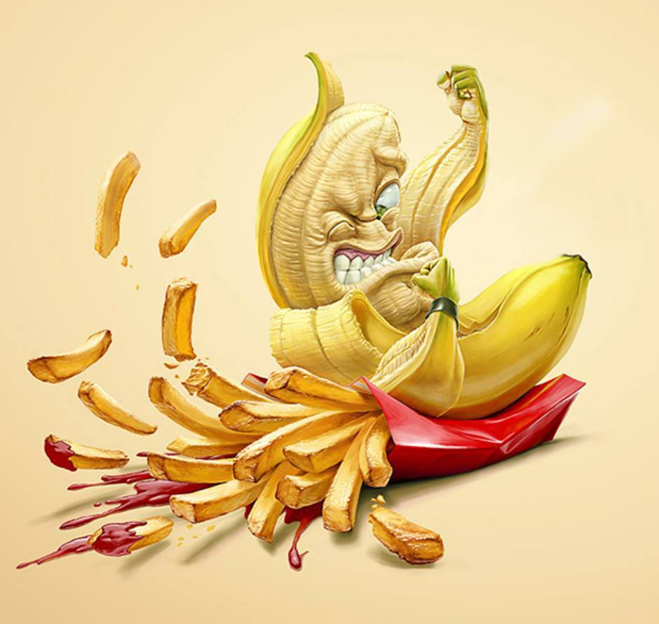 Toutes les calories ne se valent pas banane vs frites