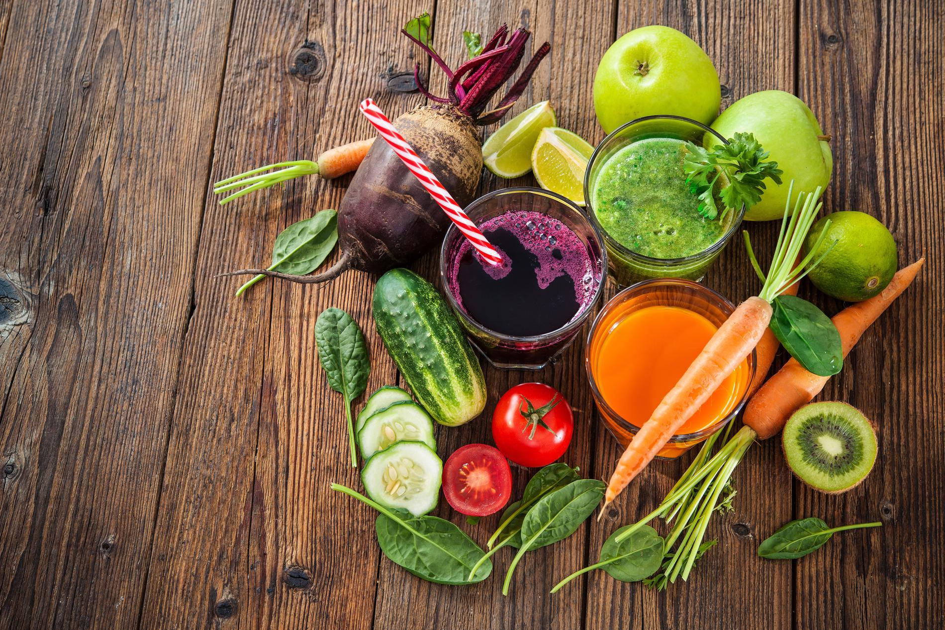 Jus de légumes : un véritable remède et aide minceur